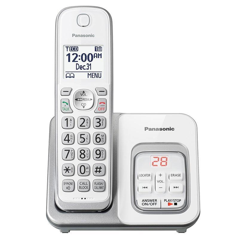 تلفن بی سیم پاناسونیک KX-TGD530 به رنگ سفید